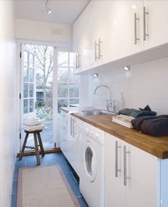 """Explore our internet site for even more information on """"laundry room storage diy"""". It is an outstanding area to learn more. laundry room 6 Smart Ideas for a Laundry Room at Home Laundry Nook, Small Laundry Rooms, Laundry Room Organization, Laundry In Bathroom, Diy Organization, Bathroom Renos, Basement Laundry, Bathroom Interior, Kitchen Interior"""