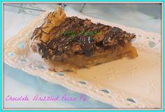 Imagem de chocolate chuviscou Bourbon Pecan Pie