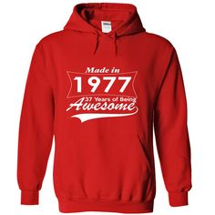 37 Years of Being Awesome T Shirts, Hoodies. Check price ==► https://www.sunfrog.com/Birth-Years/37-Years-of-Being-Awesome-cbthm-Red-4238071-Hoodie.html?41382 $39.5