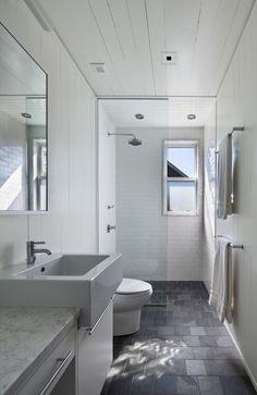 Beach Bathroom   White contemporary   Beach House Bathroom Ideas,,,nice layout