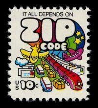 MAIL~Stamp 1970s-ness