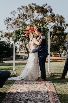 Relaxed Sunday Session Inspired Wedding In Fremantle - Polka Dot Bride