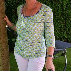 Shirt aus sweet apple Jersey von Jolijou