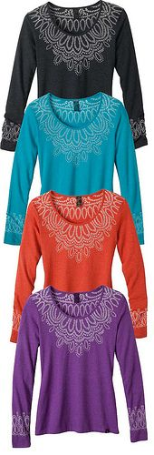 prAna Chelsea Top - BLACK - or if they had it in deeper shades