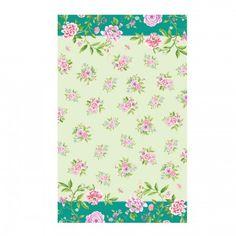 Sanderson For Pimpernel Porcelain Garden Tea Towel