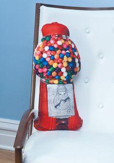 Gum Ball machine pillow-Modcloth
