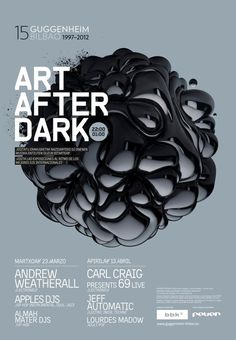 ART AFTER DARK A nice poster from the...