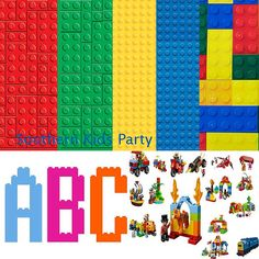 LEGO 10 papers 80 character clipart lego by SouthernKidsParty