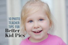 Taking better photos of your kids