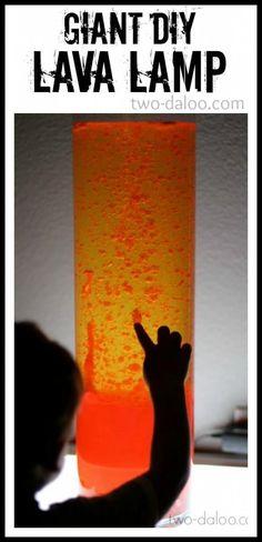 """Giant """"Pink Lemonade"""" DIY Lava Lamp at Twodaloo"""
