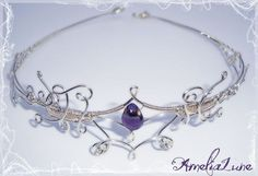 This wirework tiara tutorial will teach you how to make one the same as…