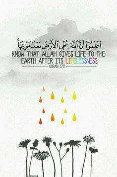 Al Hadid 57 : 17