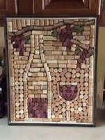 Image result for wine cork art
