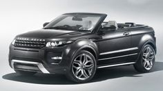 Range Rover Evoque Convertible Concept - ruggedised, practical and real damn ugly!