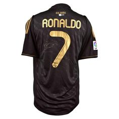 Cristiano Ronaldo Autographed Jersey - Real Madrid - GAI Certified - Autographed Soccer Jerseys $499.99 @ Buy.com - ZingZong Sports