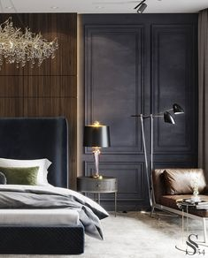 neoclassic bedroom design bedroom interior design in neoclassical style . please check my page for more idea Decor Interior Design, Interior Decorating, Design Bedroom, Decorating Ideas, Bedroom Vintage, Cheap Home Decor, Home Fashion, House Design, House Styles