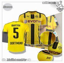 Maillots-Sport: Le Nouveau Maillot Du Dortmund BVB Bartra 5 Domicile 2016 2017