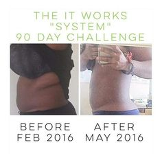 "Gabrielle has gotten some AMAZING results with consistency on the It Works System! I love it that I can help other people change their lives physically & financially! That type of freedom is amazing to me, and of course it's tons of fun!  Go Gabby, go!  Start your 90 Day Challenge today!!  message me  ""system"" to get started"
