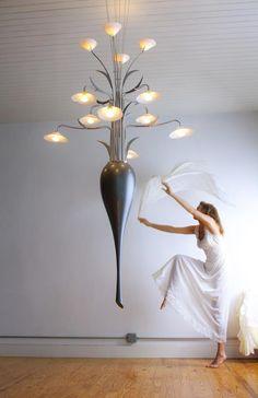 David d'Imperio - professional crafter  lighting sculptures