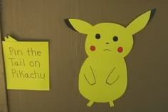 Pokemon Birthday Party instead of pin the tail on pikachu pin the jewl on espeon Birthday Party Games, 6th Birthday Parties, Diy Birthday, Birthday Ideas, Pokemon Birthday, Pokemon Party, 4 Year Old Boy Birthday, Animal Party, Party Time