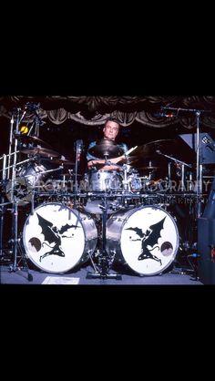 The Mighty Bill Ward of Black Sabbath.
