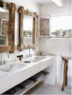 Idée décoration Salle de bain  Baños de obra y microcemento | Decorar tu casa es facilisimo.com