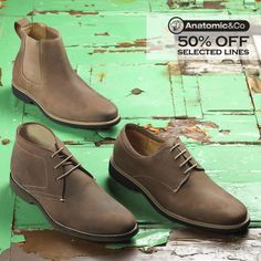 off selected Anatomic & Co. Shop in-store at our Carrickfergus showroom (open weekdays or online. Leather Shoes, Soft Leather, Shoe Sale, Brogues, Shoe Brands, Showroom, Oxford Shoes, Dress Shoes, Footwear