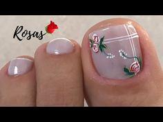 Cute Toe Nails, Cute Toes, Purple Nail Art, Nail Colors, Girly, Make It Yourself, Santa Marta, Pedicures, Amelia