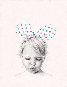 Little girl by jutta / kootut murut, via Flickr
