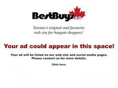 BestBuys.ca is Toronto's original and favourite web site for bargain shoppers and #1 on Google for warehouse sales! We bring you all the best warehouse sales and sale events in and around Toronto via the Internet. #warehousesale #samplesale #outletstore #auction #fashion #electronics #houswares #healthandbeauty #furniture #advertising #fleamarket #clearance