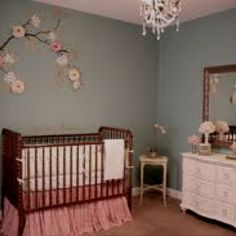 cute idea for a baby girls room