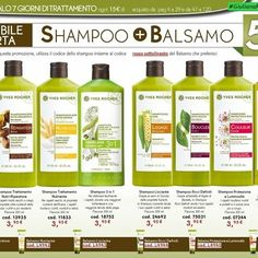 #Shampoo + #Balsamo solo 5 €❗❗ Non Perdere l'Offerta Imperdibile,Scegli lo… Yves Rocher, Beauty Routines, Shampoo, Personal Care, Photo And Video, Album, Instagram, Board, Graphic Art