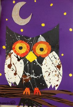 2nd grade Art paper collage