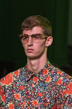 Gucci SS17 Menswear #eyewear