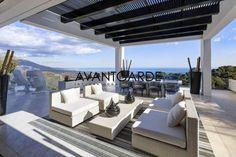Magnificent Villa with sea and mountain views in La Zagaleta, Marbella, Spain in Benahavís, Spain. Luxury Real Estate for sale. Luxury Apartments, Luxury Homes, Marbella Villas, Marbella Spain, Costa, Luxury Portfolio, Outdoor Areas, Outdoor Seating, Luxury Villa