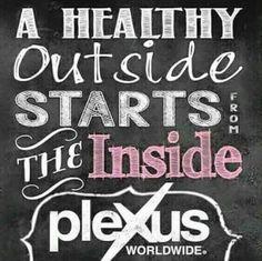 A healthy outside starts from the inside!! http://shopmyplexus.com/kteeple30