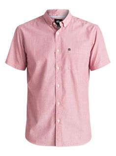 Quiksilver Pink Short Sleeve Shirt