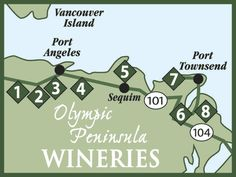 Wine Tasting at Olympic Peninsula Wineries