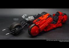 """BatPod custom typr Mk.II & Kaneda's bike RUbyHound by HaeunDaddy"" by seter82: Pimped from Flickr"