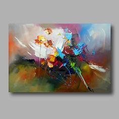 klaar om gestrekte hand geschilderde abstracte moderne olieverf doek kunst aan de muur home deco één paneel overhandigen 2016 - $53.99