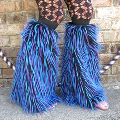 no muppets were injured in the making of these legwarmers