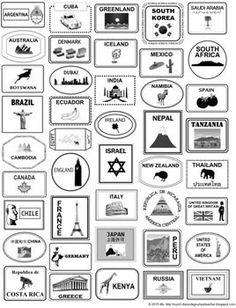 Passport Template More Around The World Theme, Around The World In 80 Days, Holidays Around The World, Around The Worlds, Passports For Kids, Little Passports, Passport Template, Passport Stamps, World Thinking Day