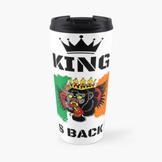 #thekingisback #conormcgregor #ufc #mma #findyourthing #shirtsonline #trends #riveofficial #favouriteshirts  #art #style #design #shopping #redbubble #digitalart #design #fashion #phonecases #customproducts #onlineshopping #accessories #shoponline #onlinestore Conor Mcgregor, Ufc, Sell Your Art, Travel Mug, Finding Yourself, King, Phone Cases, Trends, Accessories