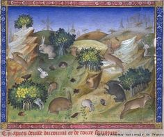 Gaston Phoebus (1331-1391), count of Foix, was a great hunter and dictated his Livre de chasse (Hunting Book) at the end of his life