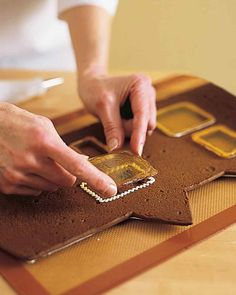 How to Make a Gingerbread House Facade | Martha Stewart