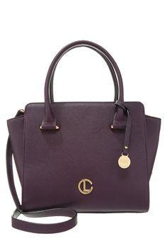 Elegante Tasche im klassischen Design! L.Credi Handtasche - aubergine für 69,95…