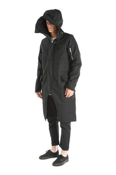 The Long Parka from DEN IM by SIKI IM Details Super long body for warmth. Shaped sleeves. Cotton filler with German teflon coated outer.…