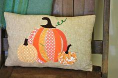 sew: pumpkin pillow || Buzzmills