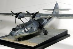 Revell 1/48 Catalina - good diorama with ramp and water