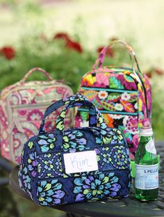 Vera Bradley Lunch Date, Lunch Bunch and Lunch Date